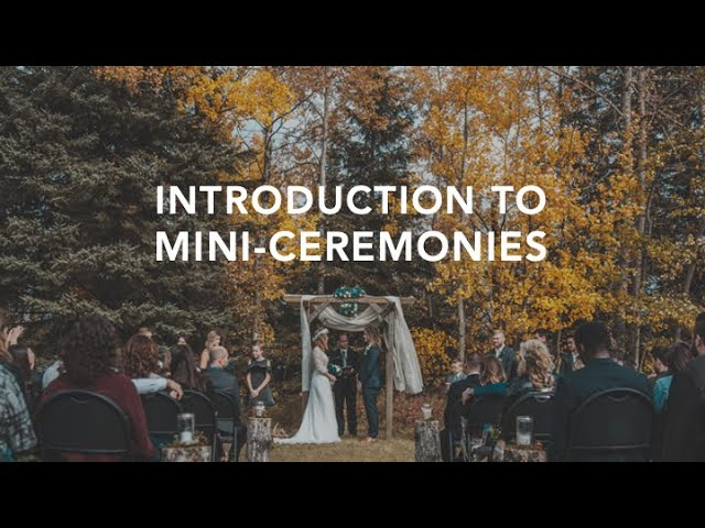 How Mini-Ceremonies can MAKE YOUR WEDDING AWESOME!!!