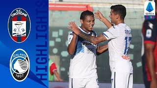 Crotone 1-2 Atalanta | I bergamaschi vincono grazie alla doppietta di Muriel | Serie A TIM