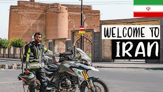This is Iran Ep 44 Not What I Expected Motorcycle Tour Germany to Pakistan on BMW G310GS