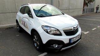 2013 Opel Mokka - Test Drive Car - Exterior Walkaround - 2012 Paris Auto show