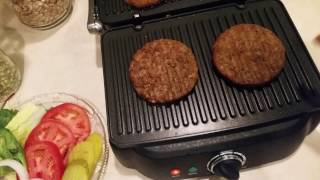 Morning Star Farms Grillers Prime Burger Review Youtube
