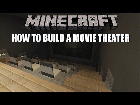 How To Build A Home Movie Theater In Minecraft Interior