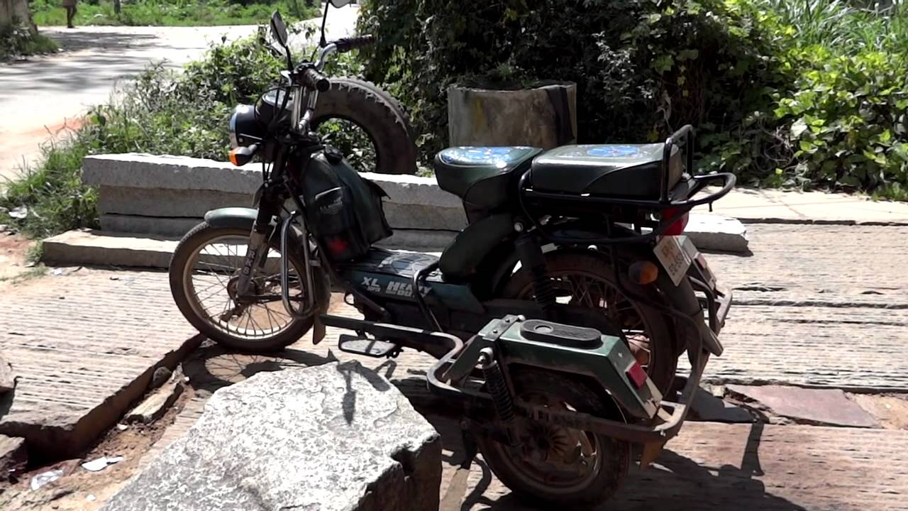 TVS XL Super HD Moped Modification for Physically Challenged Riders - YouTube