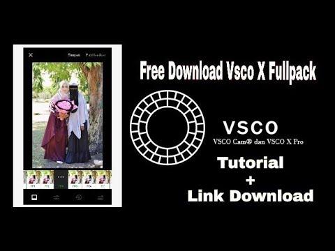 download vsco x full pack apk terbaru