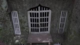 大分県竹田市殿町 武家屋敷の裏ある隠れ切支丹洞窟礼拝堂です。