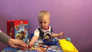 Открываем набор детской мебели Щенячий патруль,  шоколадные шары от Chupa Chups и свитбокс