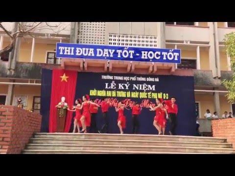 Khiêu vũ: no face no name no number. Lớp 11A2 THPT Đông Hà