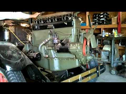 Removing 1926 Buick Engine Youtube