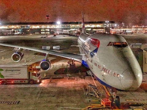 British Airways | Boeing 747-400 | LHR-KWI | World Traveller