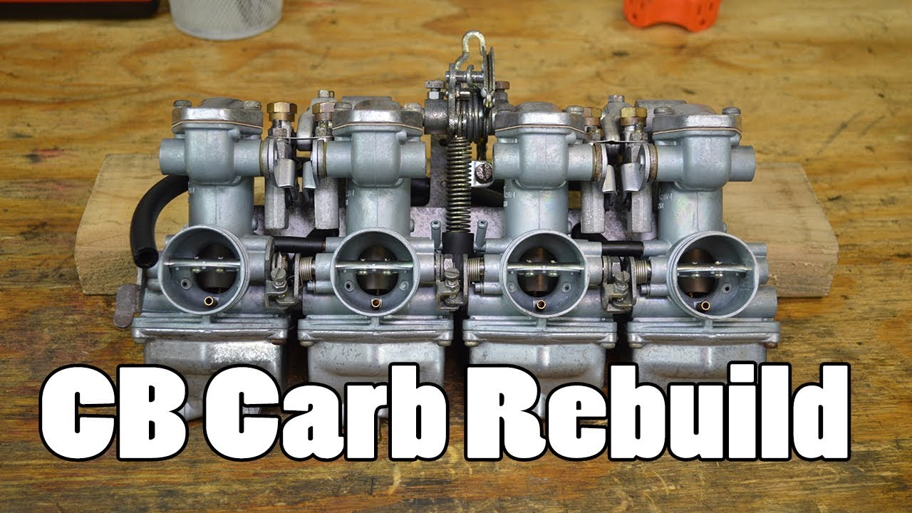 How To Cb350 Cb400 Cb500 Cb550 Carburetor Clean Rebuild Youtube 1973 Wiring Diagram Schematic