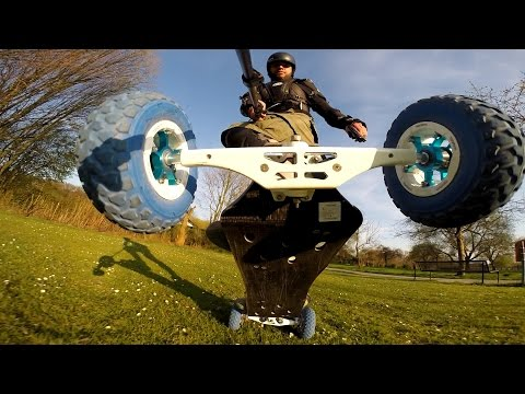 Electric Mountainboard, E-MTB, E-Toxx, Trampaboards, New 8S Hobbywing Setup