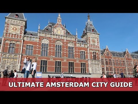 AMSTERDAM CITY: YOUR ULTIMATE TRAVEL GUIDE | TRAVEL VLOG IV