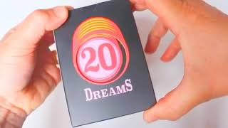 20 Dreams Card Game - Unboxing 20 Dreams - A new 2020 Card Game
