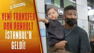 Patrick van Aanholt Galatasaray İçin İstanbul'a Geldi! İşte Havaalanından İlk Görüntüler
