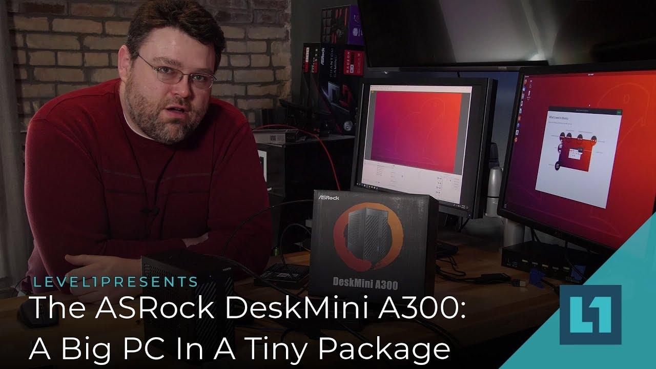 The ASRock DeskMini A300: A Big PC In A Small Package