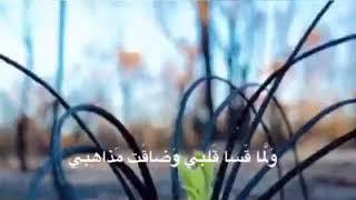 { ولما قسى قلبي } بصوت ~ محمد مراد العابد
