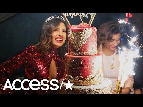 Priyanka Chopra Dazzles In Red For Epic Miami Birthday Bash With Nick Jonas