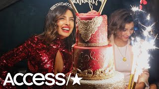 Priyanka Chopra Dazzles In Red For Epic Miami Birthday Bash With Nick Jonas