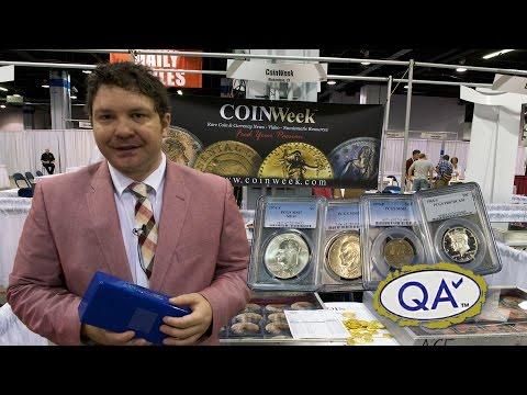 CoinWeek: Charles Morgan Submits Modern Coins to QA Check. VIDEO: 17:47.