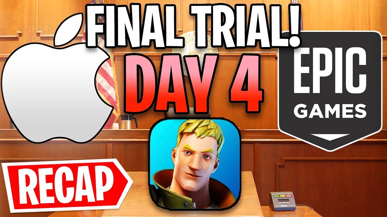 Fortnite vs. Apple Trial Day 4 Recap! - Epic Fights Back...