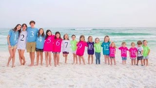 Family Honors Late Father With Epic Photo of His 17 Grandchildren
