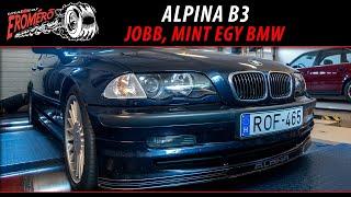 Totalcar Erőmérő: Alpina B3 - jobb, mint egy BMW [ENG SUB]