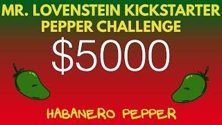 kickstarter pepper challenge habanero