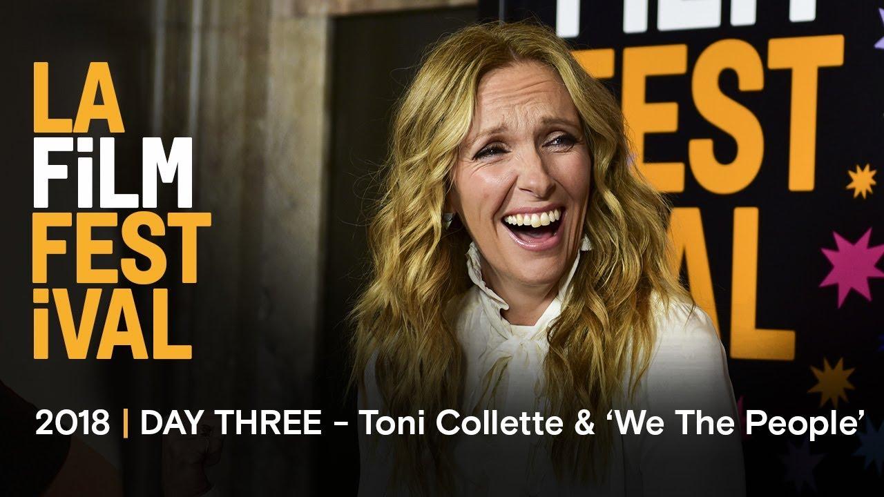 Ally Sheedy Fakes la film festival   we the people & toni collette 'wanderlust' premiere    day three recap