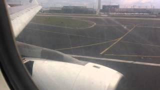 Landing at Frankfurt Airport - EGYPTAIR A330-200