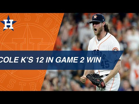 Gerrit Cole's historic ALDS performance in Game 2