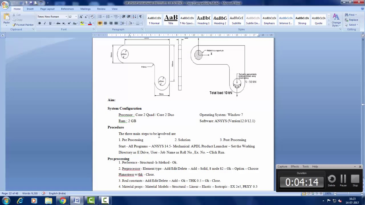 ansys lab manual for jntua mechanical engineering youtube rh youtube com Marianne Wiggins Salman Rushdie Seinfeld