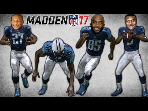 CAN STEVE MCNAIR, EDDIE GEORGE AND THE TENNESSEE TITANS WIN THE SB VS. THE RAMS IN MADDEN 17?!