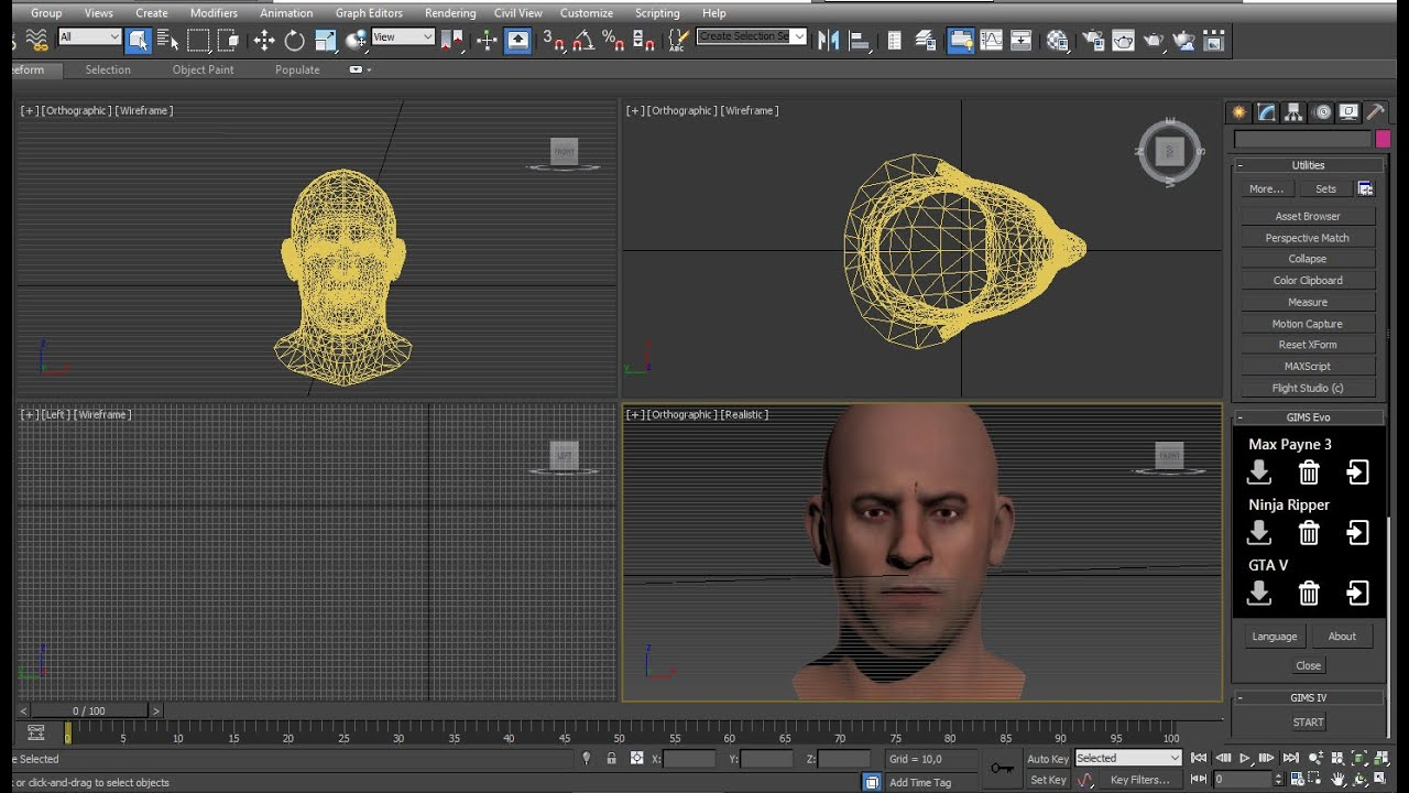How to make a Player mod for GTA 5 (Head)