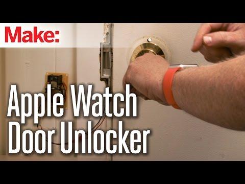 DIY project: How-to unlock your door with Apple Watch (Video)
