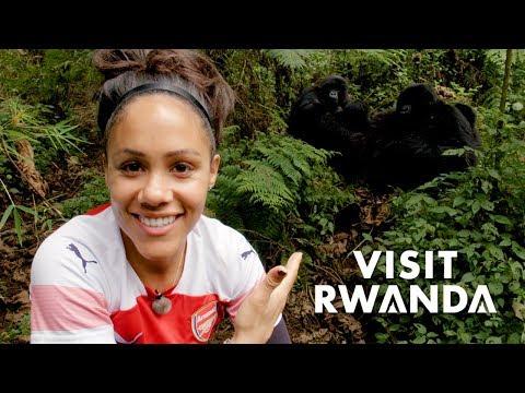 'Absolutely incredible!' | Alex Scott goes gorilla trekking with Visit Rwanda