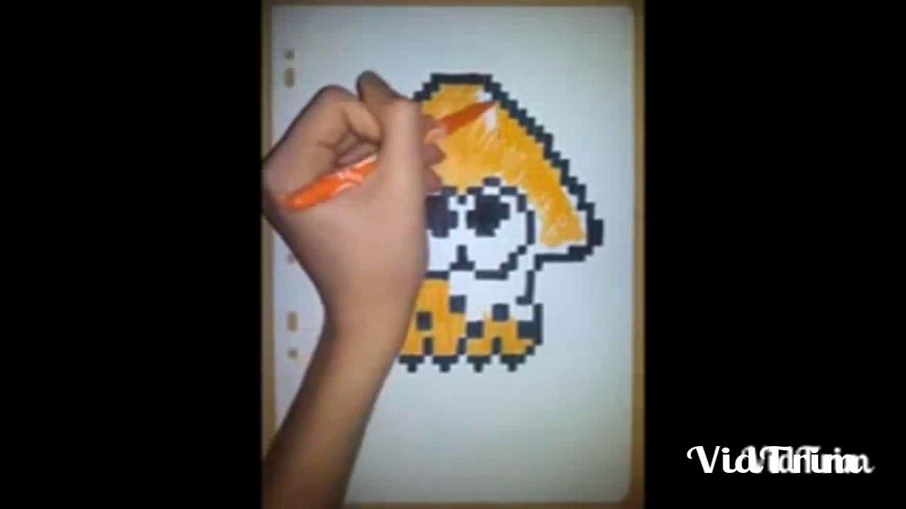 Je Me Présente Avec Un Pixel Art Splatoon Youtube