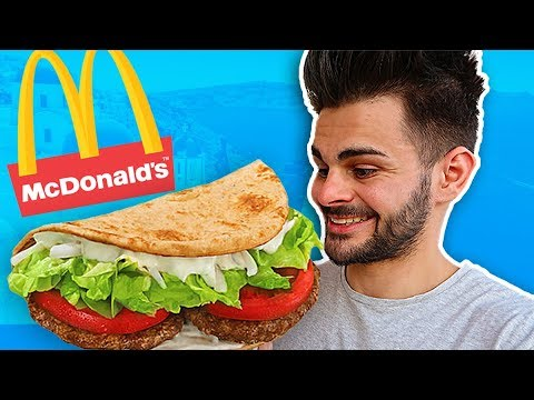 JE TESTE LE KEBAB DU MCDO (McDonald's Grèce)
