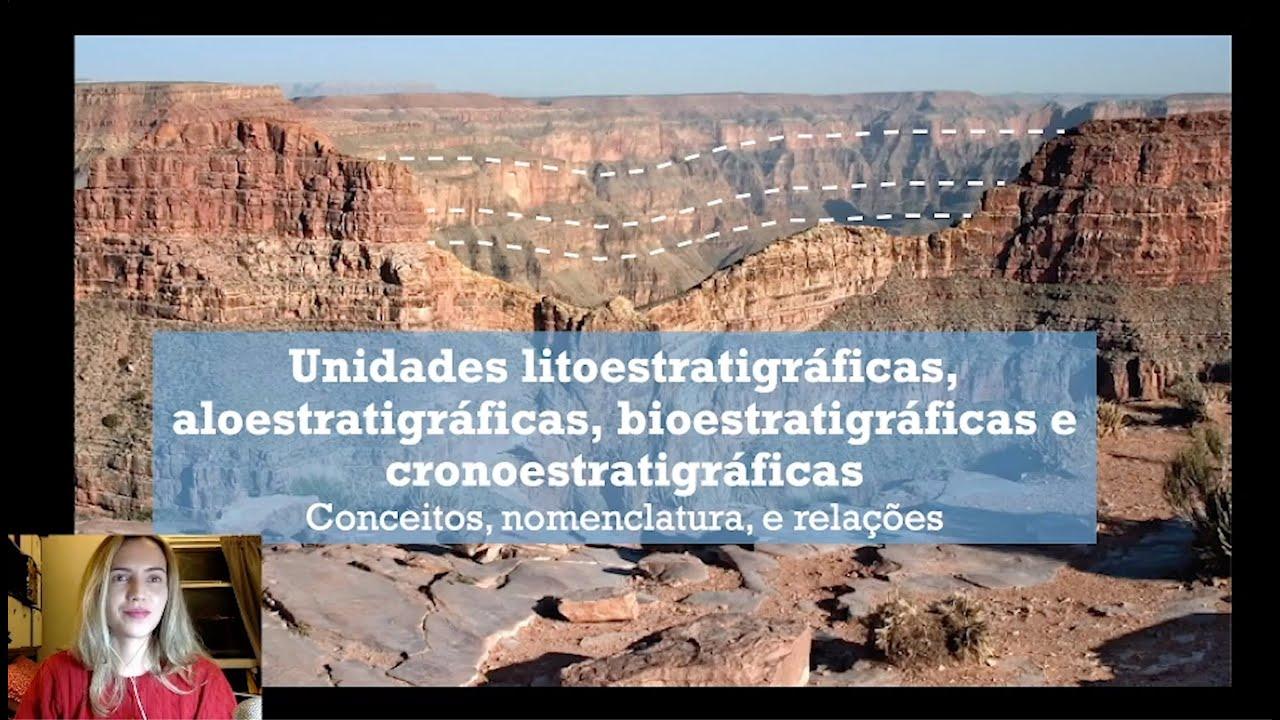 Estratigrafia - Litoestratigrafia, Aloestratigrafia, Bioestratigrafia, Cronoestratigrafia