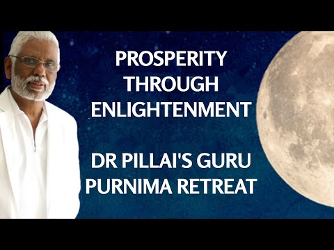 Guru Purnima Meditation Retreat: Prosperity Through Enlightenment