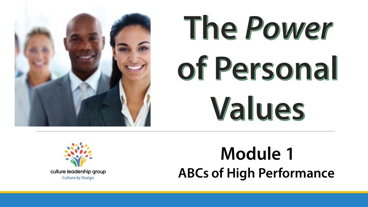The Power of Personal Values - Trailer