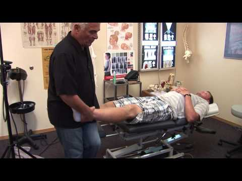Collin Klein - Heisman trophy candidate, pro football quarterback chiropractor adjustment