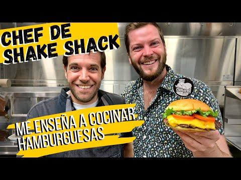 Chef de Shake Shack me enseña cómo cocinar hamburguesas