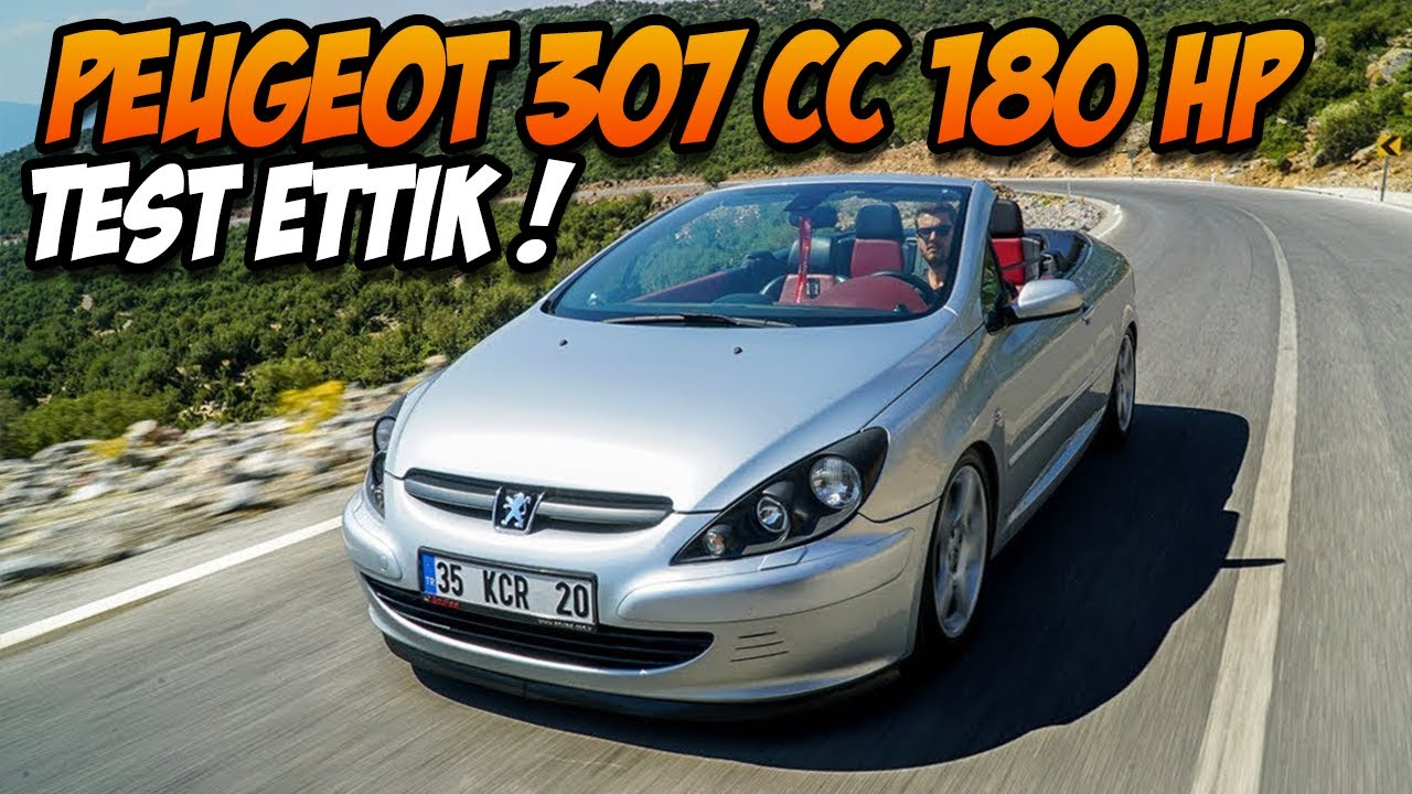 peugeot 307 cc 180hp test s r egzoz sesi a rtacak youtube. Black Bedroom Furniture Sets. Home Design Ideas