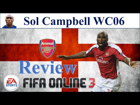 I Love FO3 | Sol Campbell WC06 Review | Đánh Giá Sol Campbell WC 06 Fifa Online 3