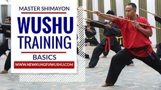 Wushu Basic Training Part 1 - Master Shimayon