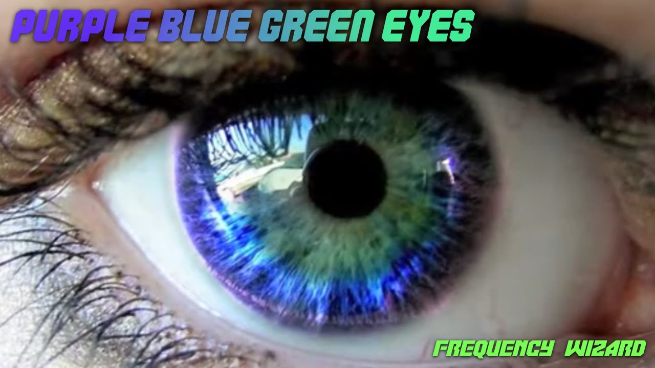 get purple blue green eyes fast subliminals frequencies
