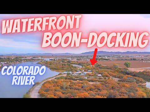 Ehrenberg AZ FREE CAMPING ALONG COLORADO RIVER...Waterfront BOONDOCKING