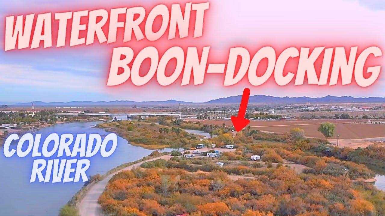 Ehrenberg Az Free Camping Along Colorado River Waterfront