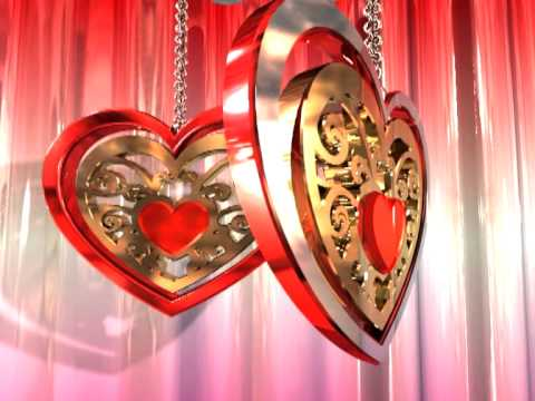 Stylish Heart Video Background Motion Graphics Animation Free Download HD