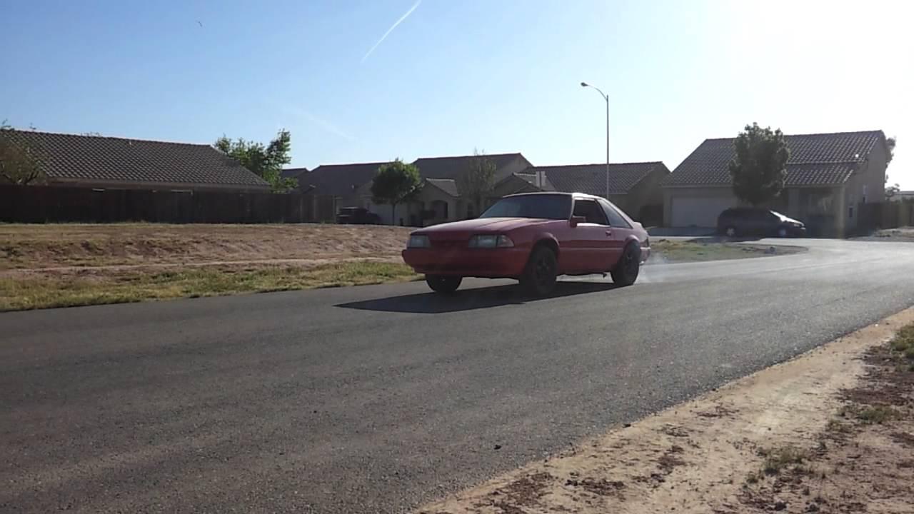 Mustang 5 0 Msd 2step Rev Limiter Youtube